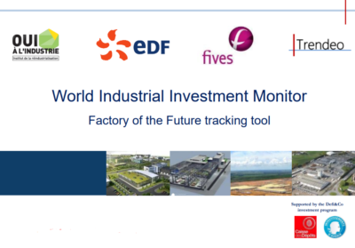 world industrial investment monitor trendeo data 2018
