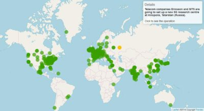 map trendeo global r&d investments worldwide
