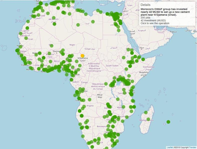 trendeo africa map industry